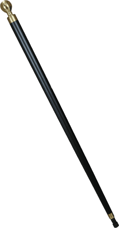 cane made from pool stick