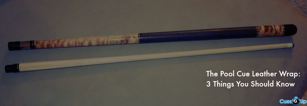 pool cue leather wrap
