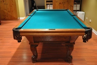 A.E. Schmidt the best pool table in the market