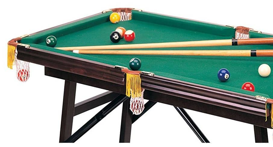 best portable pool table