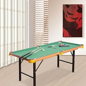 small pool tables for adults