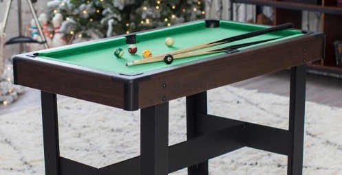 small billiard table