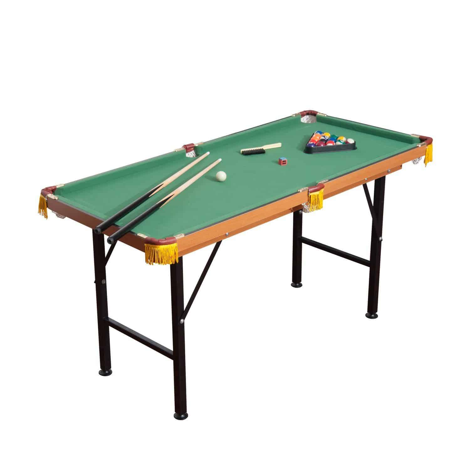 lightweight pool table