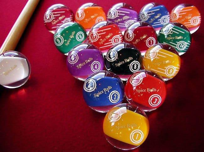 special pool balls