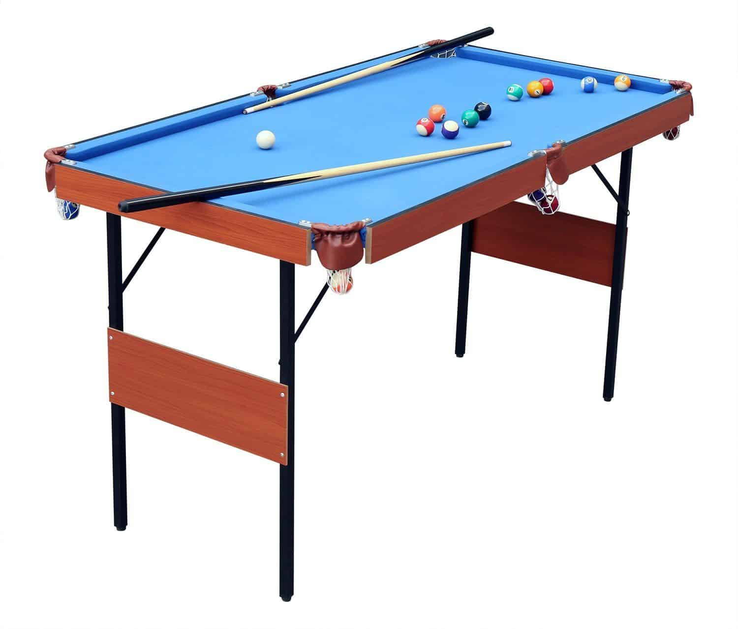 HLC 55 Folding Space Saver Pool Table Review CuesUp