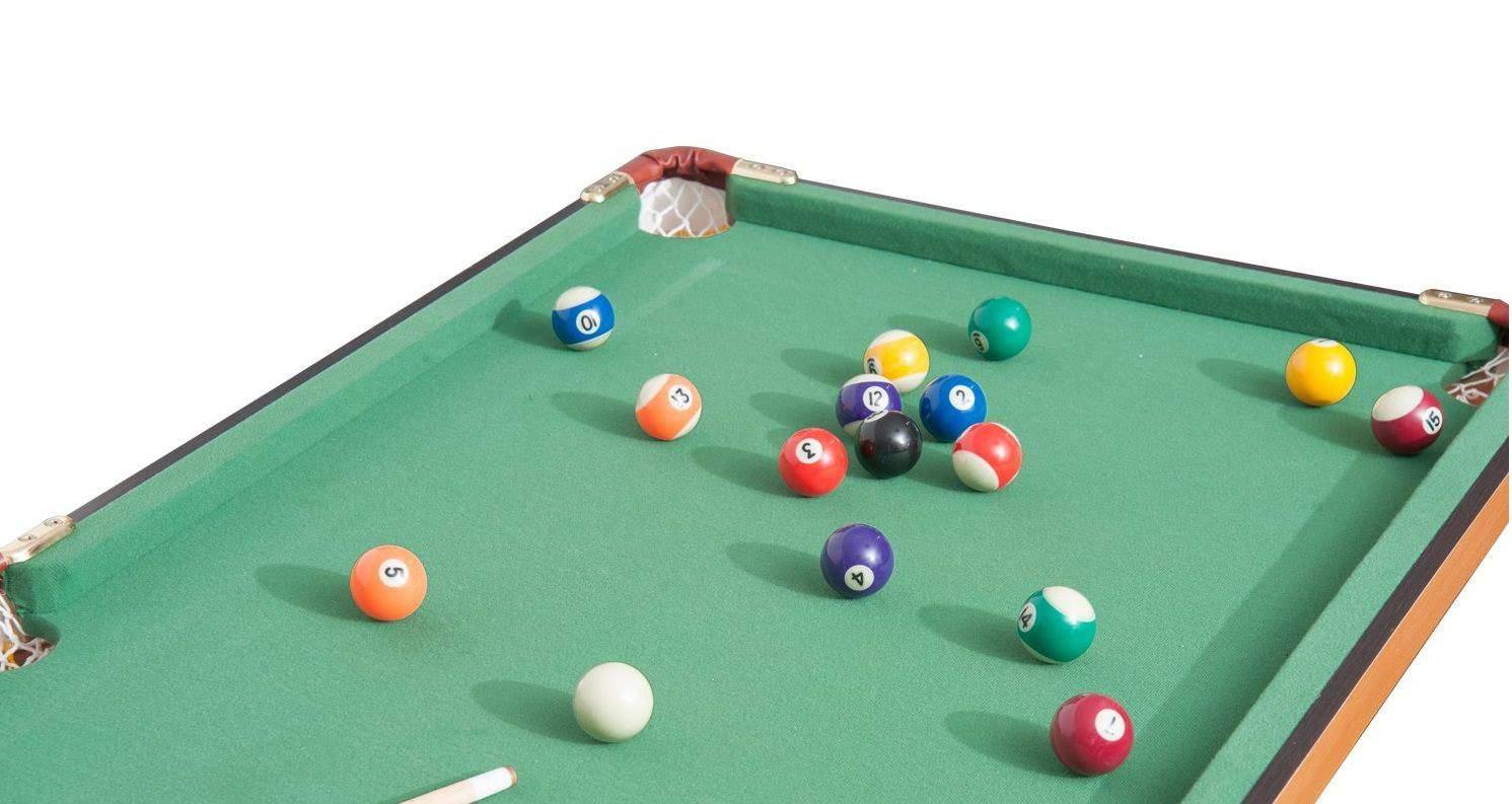 Homcom Folding Miniature Pool Table Review Cuesup