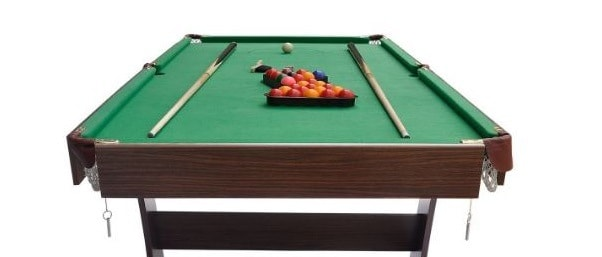 foldable snooker table