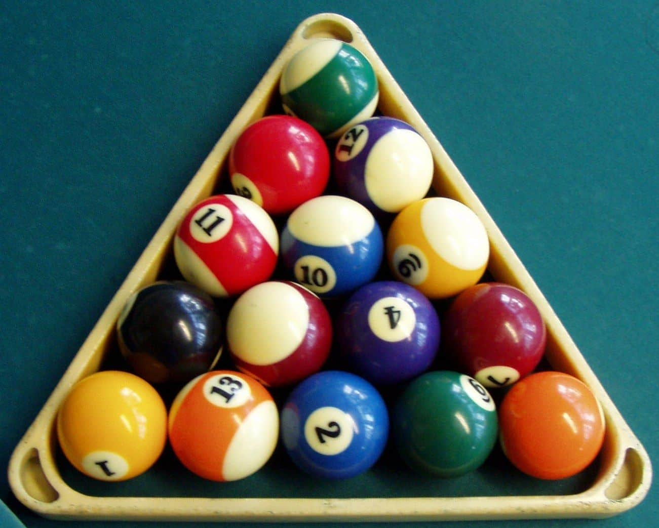 One Ball Pool rack