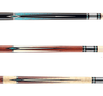 sharp pool cue inlay design